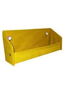 Revisteiro Prateleira Organibox Amarelo