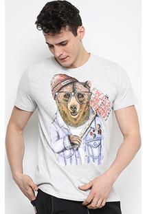 Camiseta Colcci Urso Masculina - Masculino