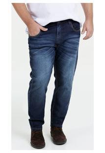 Calça Masculina Jeans Slim Plus Size Mix Jeans