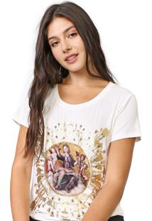 Camiseta Carmim Angel Off-White - Kanui