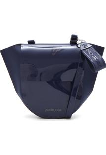 Bolsa Petite Jolie Lisa Azul-Marinho