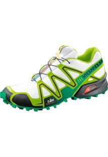 0319bf192b Kanui. Tênis Salomon Speedcross 3 Verde