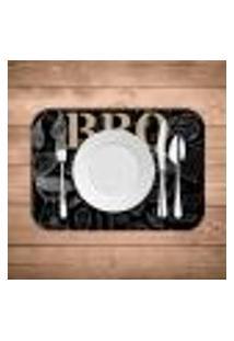 Jogo Americano Wevans B.B.Q. Kit Com 4 Pçs