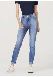 Calça Jeans Feminina Sculpted Skinny Cintura Alta
