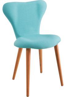 Cadeira Jacobsen 1130 Azul-Turquesa Daf
