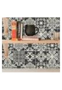Adesivo De Azulejo Black Colargo 10X10Cm