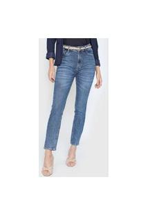 Calça Jeans Dudalina Skinny Eko Azul