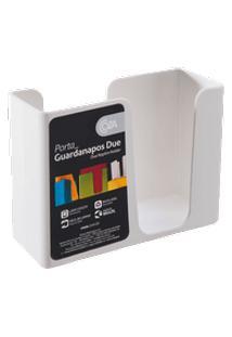 Porta-Guardanapo Casual 13,6 X 5,3 X 10,4 Cm Branco Coza Branco