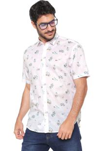 Camisa Aramis Reta Estampada Rosa