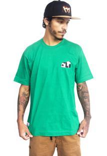Camiseta Make Panda1 Verde