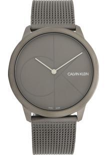Relógio Calvin Klein K3M517P4 Prata