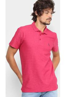 babbfdab04 Camisa Polo Reserva Piquet Mesclada Masculina - Masculino-Pink