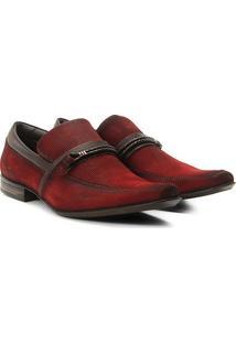 Sapato Social Couro Rafarillo Recife - Masculino-Marrom Escuro