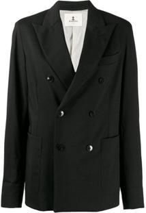 Barena Double-Breasted Jacket - Cinza