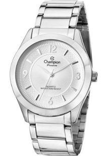 Relógio Champion Passion Cn28866Q Feminina - Feminino-Prata
