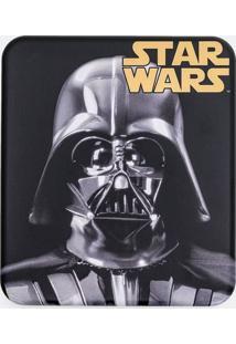 Carteira Darth Vader Com Caixa De Metal