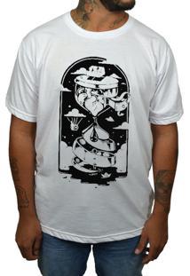 Camiseta Hshop Ampulheta Branca