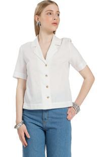 Camisa Envy Karlie Linho Branca