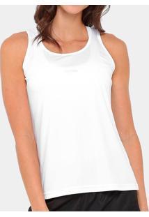 eaf6240e3eb82 A esportiva. Camiseta Regata Speedo Interlock Feminina