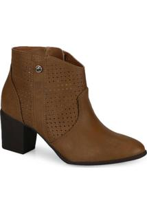 Ankle Boots Via Marte Caramelo