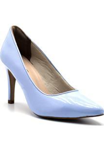 Scarpin Dr Shoes Casual Mulher - Feminino-Azul Claro