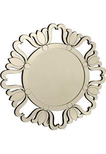 Espelho De Parede Jardim Das Tulipas