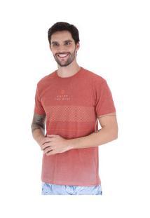 Camiseta Hang Loose Pavones - Masculina - Laranja