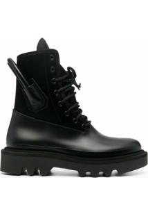 Givenchy Ankle Boot Com Recortes - Preto