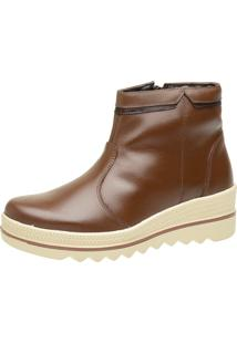 Bota Social Mr. Gutt Cano Curto Cafe