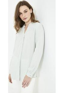 Camisa Ateen Michy Feminina - Feminino-Verde Claro