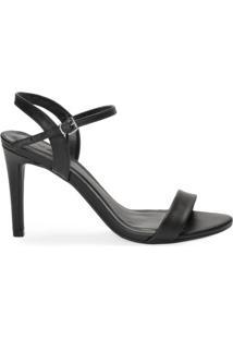 Sandália Salto Fino Minimalista