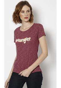 Camiseta Retrô Em Flamê - Vinhowrangler