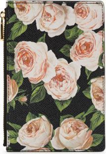 Dolce & Gabbana Carteira De Couro Floral - Estampado