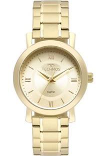 Relógio Digital Dourado Technos feminino   Gostei e agora  bb2d570e92