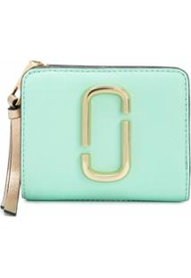 Marc Jacobs Carteira The Snapshot Compact - Verde