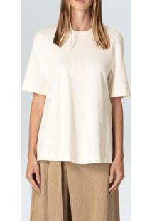 Blusa Long Rustic-Offwhite - P