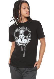 Camiseta Cavalera Mickey Preta