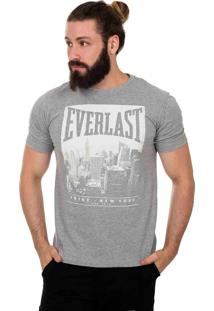 Camiseta Everlast New York Cinza