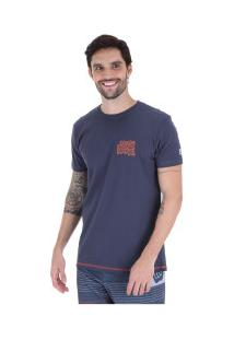Camiseta Hang Loose Silk Hang - Masculina - Azul Escuro