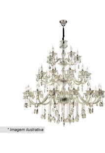 Lustre Maria Theresa- Cristal & Champanhe- 138Xø130Chevvy