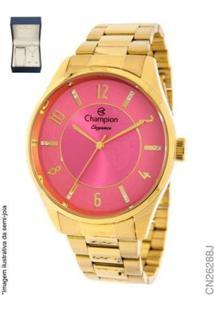 Relógio Champion Feminino- Cn26288J - Feminino-Dourado