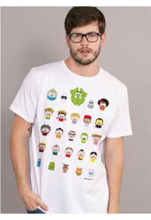 Camiseta Bandup! Turma Da Mônica Toy Todos - Masculino-Branco
