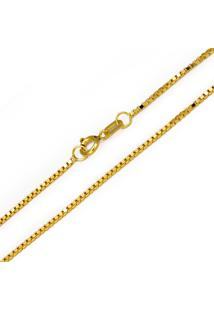 Corrente Veneziana Em Ouro Amarelo - Cr8543