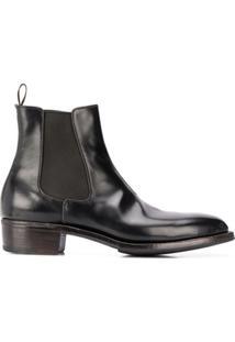 Premiata Ankle Boot Slip-On - Preto