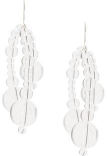 Susan Fang Bubble Dots Earringspair - Branco