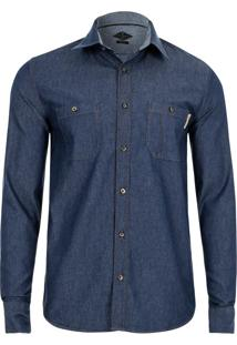 Camisa Slim Fit Casual Jeans