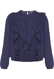 Blusa Feminina Lace - Azul