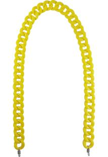 Corrente Bag Dreams Para Óculos Em Acrílico Amarela