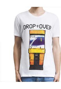 Camiseta Salt 35G Arcade Masculina - Masculino-Branco