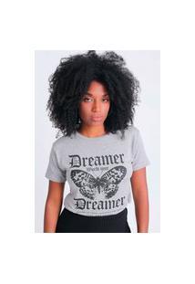 Blusa T-Shirt Dreamer Borboleta Pop Me